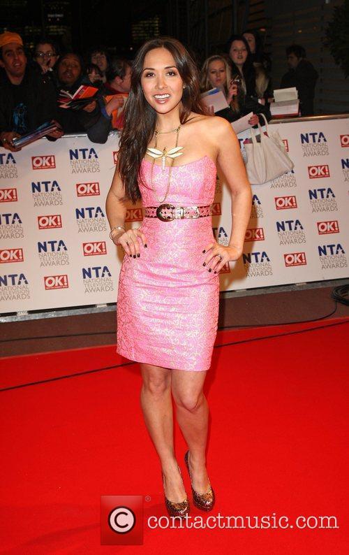 Myleene Klass The National TV awards 2010 (NTA's)...