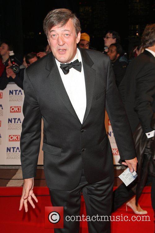 Stephen Fry The National TV awards 2010 (NTA's)...