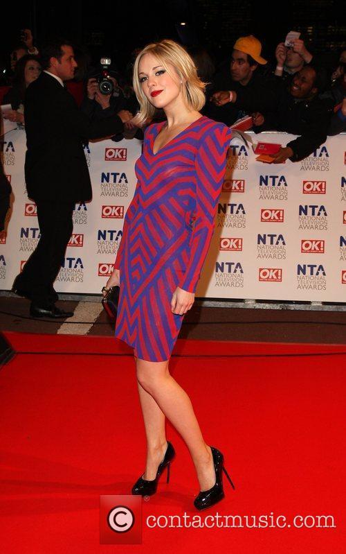 Zoe Lister The National TV awards 2010 (NTA's)...