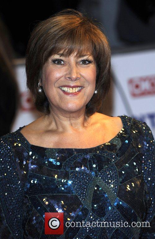 Linda Bellingham The National TV awards 2010 (NTA's)...