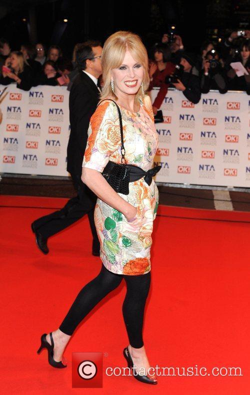Joanna Lumley National Television Awards held at the...