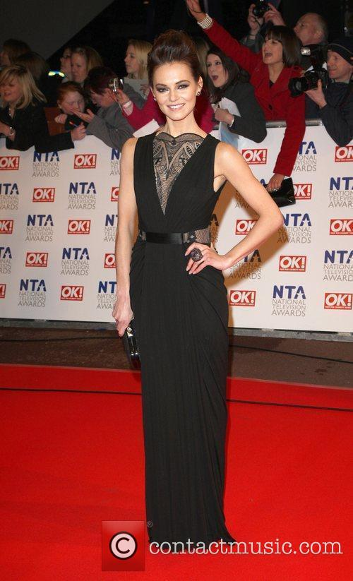 Kara Tointon The National TV awards 2010 held...