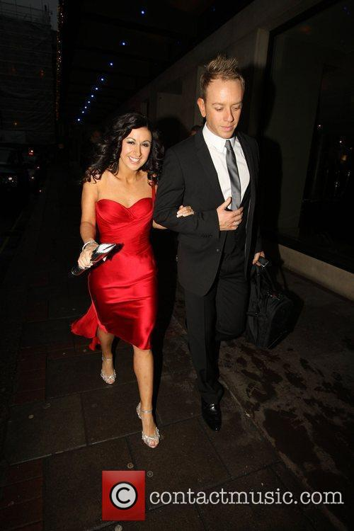 Hayley Tamaddon and Daniel Whiston outside the May...