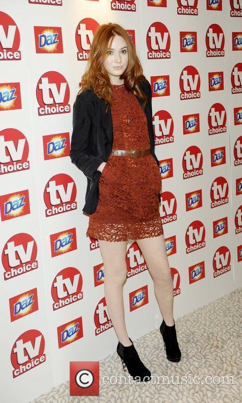 Karen Gillan TV Choice Awards 2010 at The...