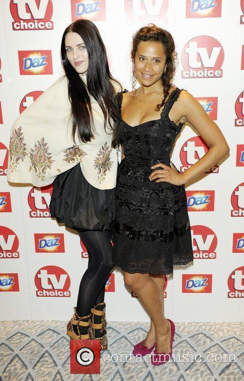 Katie McGrath and Angel Coulby  TV Choice...
