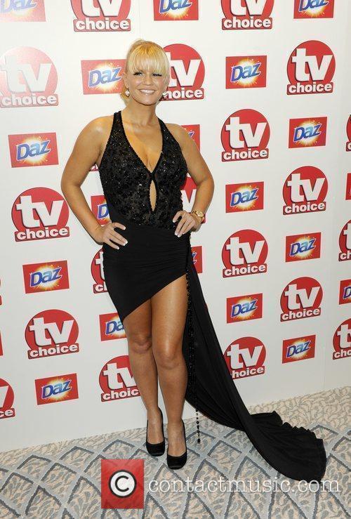 Kerry Katona TV Choice Awards 2010 at The...