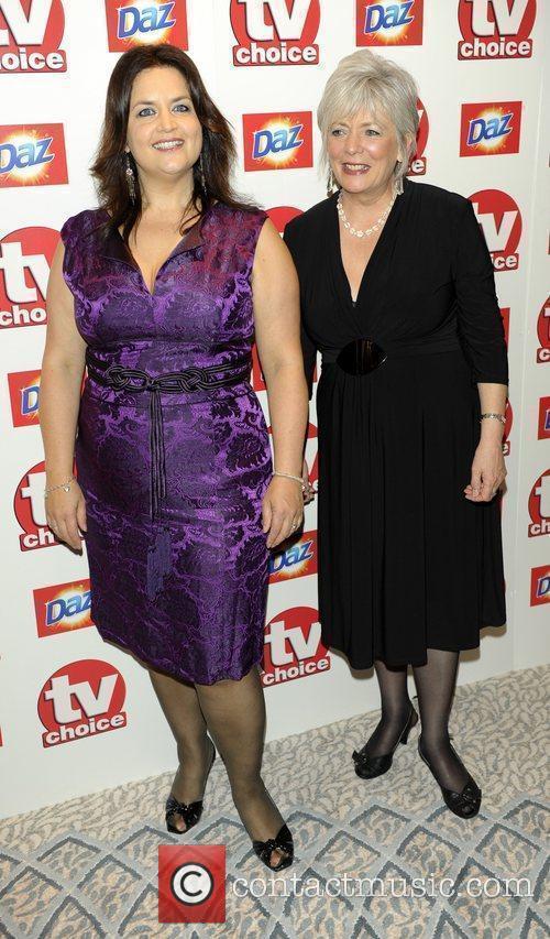 Ruth Jones and Alison Steadman TV Choice Awards...