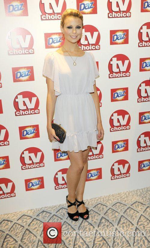 Kylie Babbington  TV Choice Awards 2010 at...