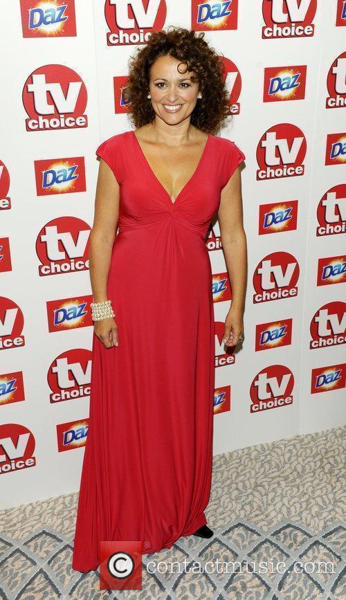 Nadia Sawalha TV Choice Awards 2010 at The...