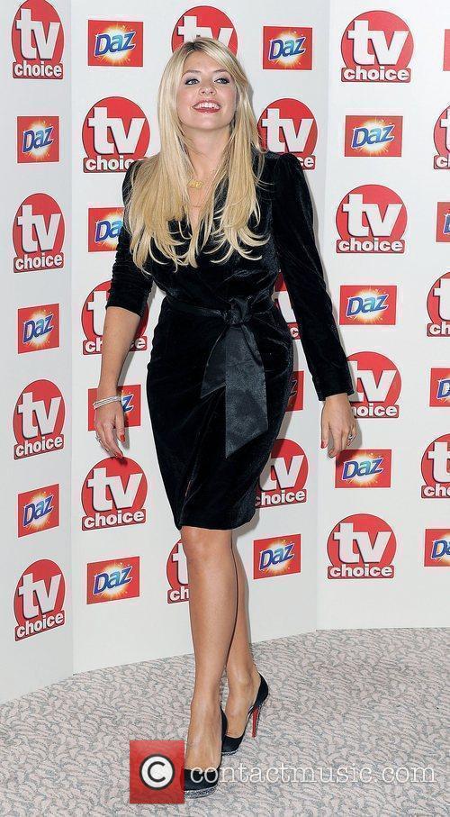 Holly Willoughby,  TV Choice Awards 2010 at...