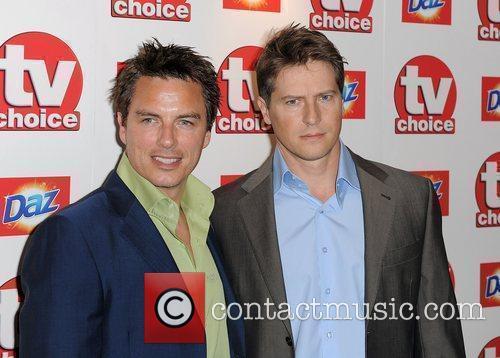 John Barrowman (left),  TV Choice Awards 2010...