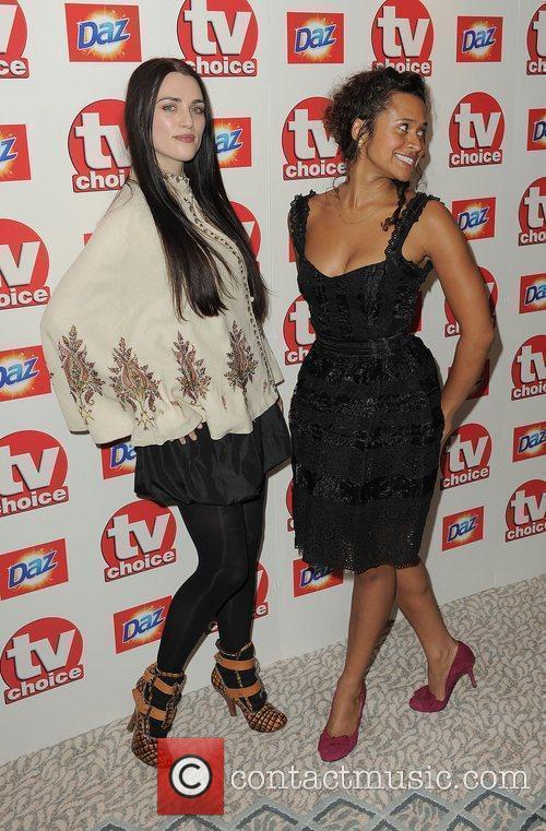 Katie McGrath and Angel,  TV Choice Awards...