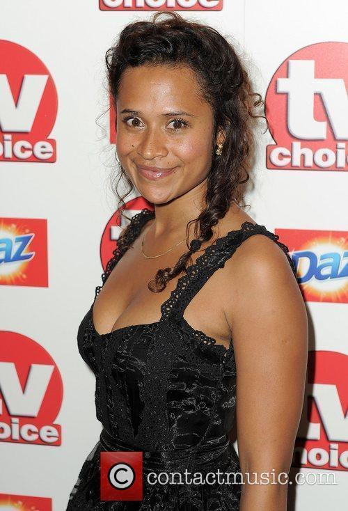 Angel,  TV Choice Awards 2010 at The...