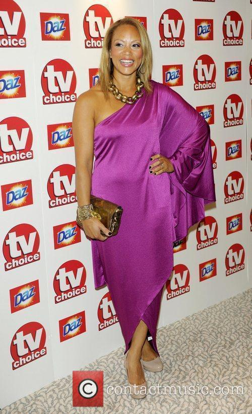 Angela Griffin TV Choice Awards 2010 at The...