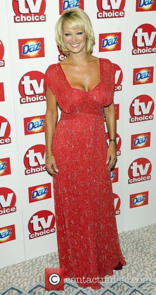 Gillian Taylforth TV Choice Awards 2010 at The...