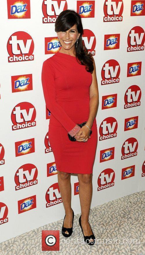 Gaynor Faye TV Choice Awards 2010 at The...