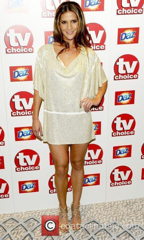Amanda Byram TV Choice Awards 2010 at The...