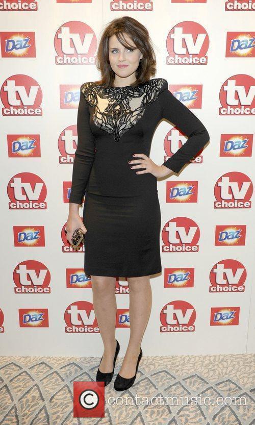 Emer Kenny TV Choice Awards 2010 at The...