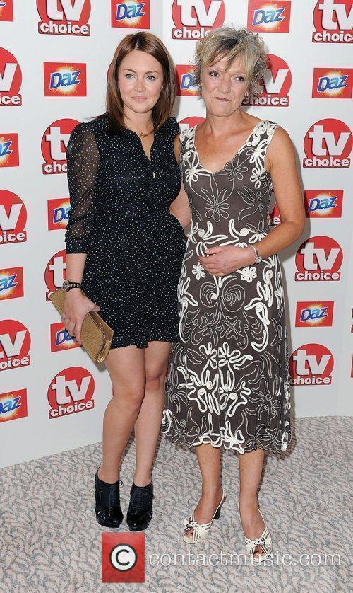 Lacey Turner and Gillian Wright,  TV Choice...