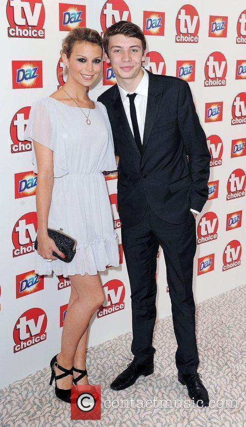 Kylie Babbington and Charlie Hawkins,  TV Choice...