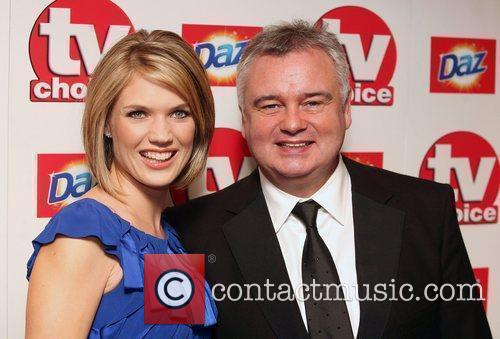 Charlotte Hawkins and Eammon Holmes,  TV Choice...
