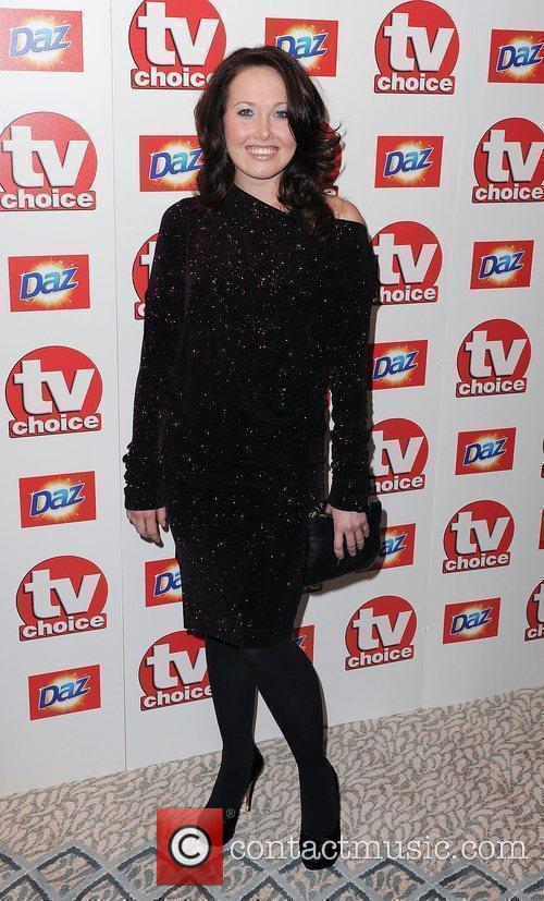 Rebecca Atkinson,  TV Choice Awards 2010 at...