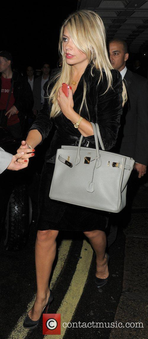 Holly Willoughby leaving the TV Choice Awards 2010,...