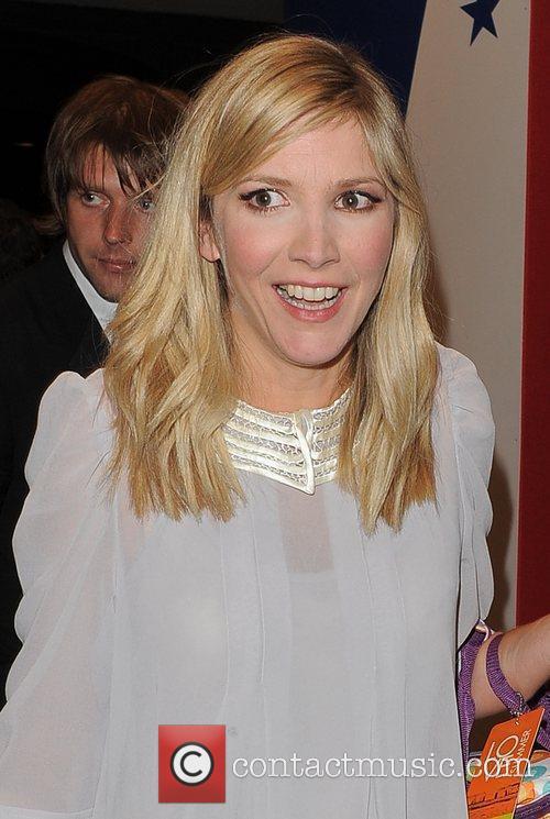 Lisa Faulkner leaving the TV Choice Awards 2010,...