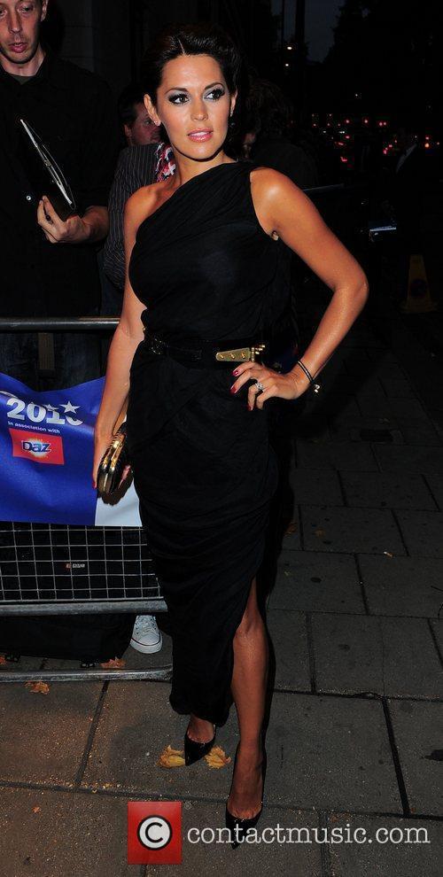 Danielle Lineker,  TV Choice Awards 2010 Outside...