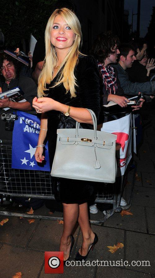 Holly Willoughby,  TV Choice Awards 2010 Outside...