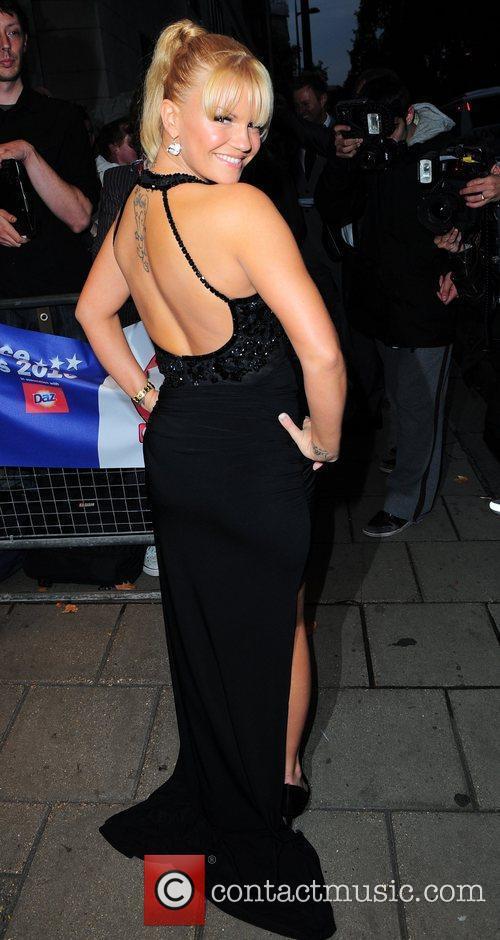 Kerry Katona,  TV Choice Awards 2010 Outside...