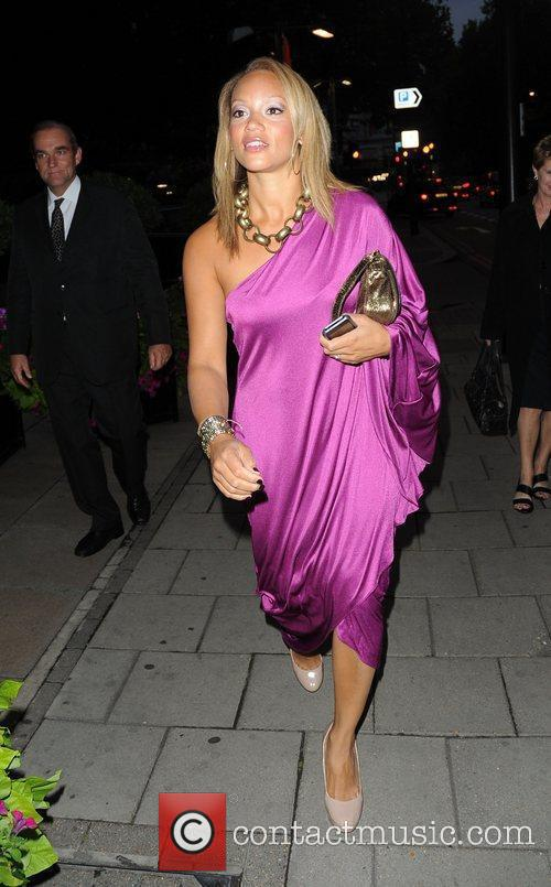 Angela Griffin  TV Choice Awards 2010 -...