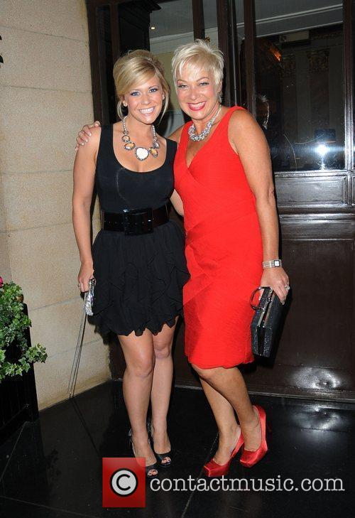 Suzanne Shaw and Denise Welch TV Choice Awards...