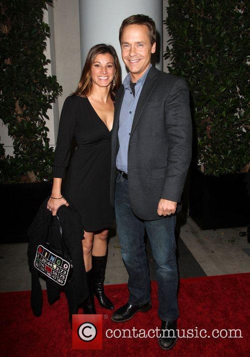 Chad Lowe and his girlfriend Kim Painter TV...
