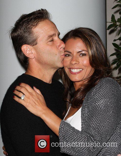 Lisa Vidal (R) and husband Jay TV Guide...