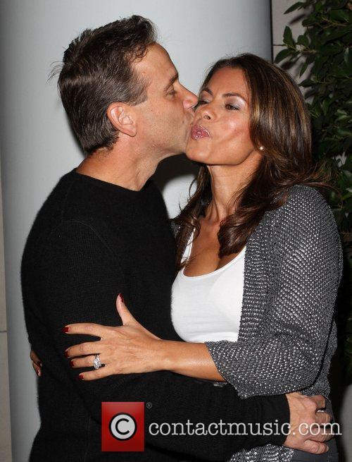 Lisa Vidal and husband Jay TV Guide Magazine's...
