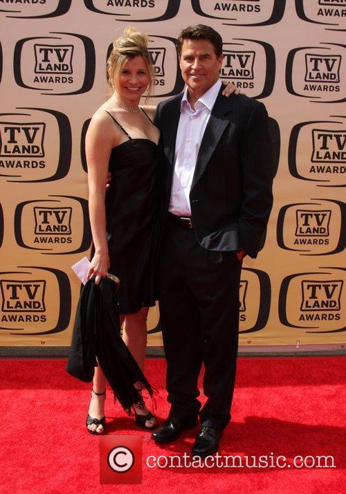 Gigi Rice and Ted McGinley The TV Land...
