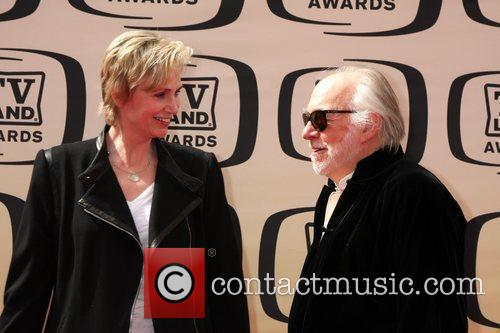 Jane Lynch and Howard Hessman