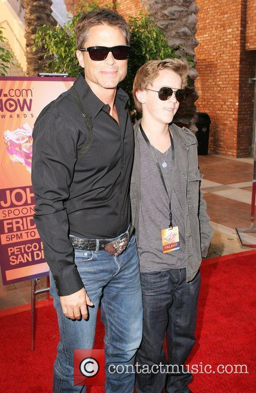 Rob Lowe and Johnny Lowe 1