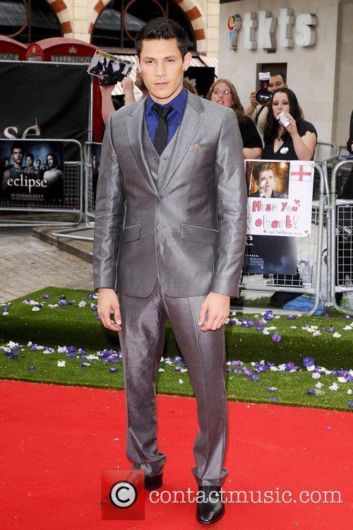 Alex Meraz UK gala premiere of 'The Twilight...