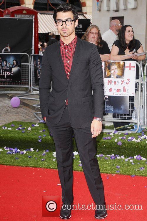 Joe Jonas UK gala premiere of 'The Twilight...
