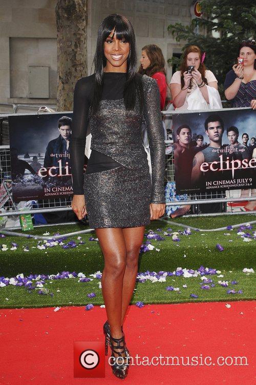 Kelly Rowland UK gala premiere of 'The Twilight...