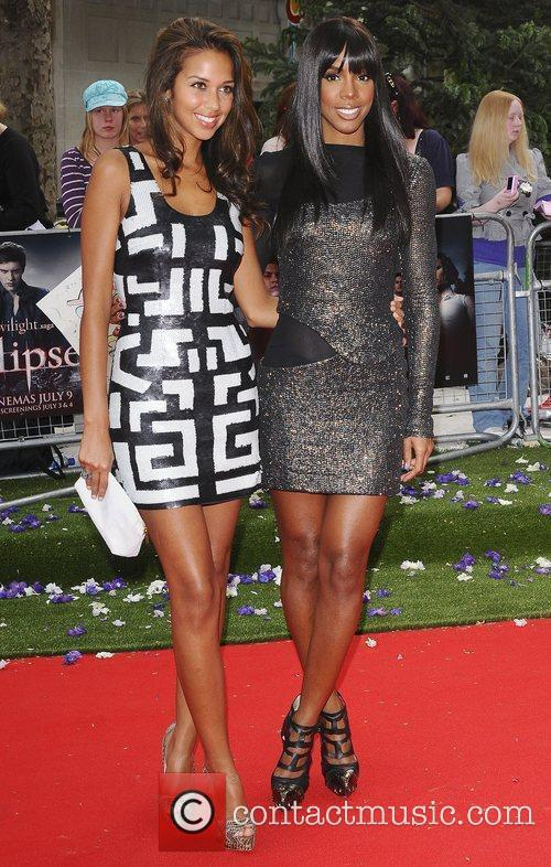 Kelly Rowland and guest UK gala premiere of...