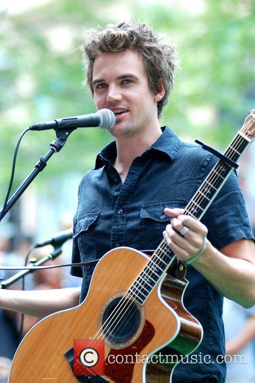 Tyler Hilton  performs during the Walgreens summer...