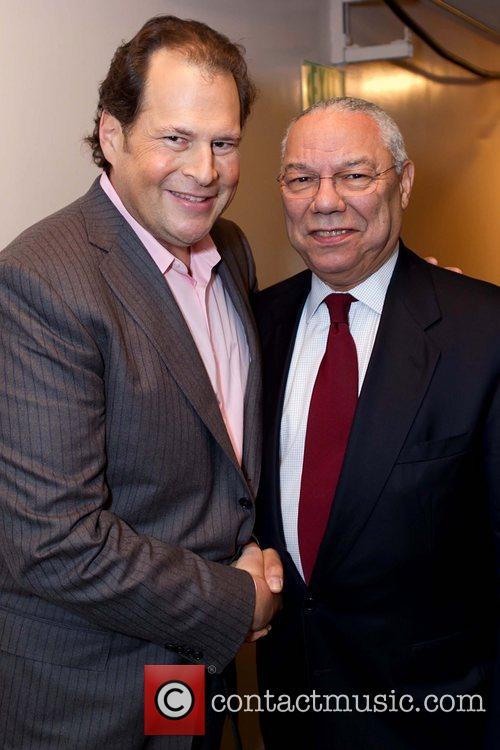 Marc Benioff and General Colin Powell Benefit concert...