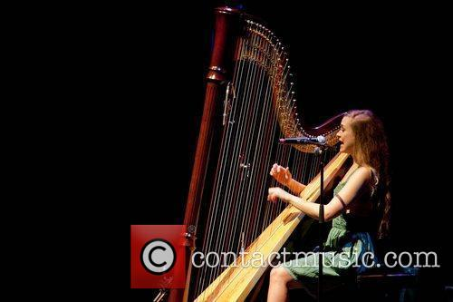 Joanna Newsom performing Benefit concert for UCSF Benioff...
