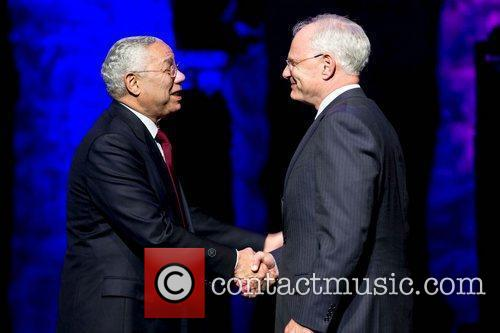 General Colin Powell and Mark Laret Benefit concert...