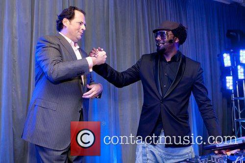 Marc Benioff and will.i.am of The Black Eyed...