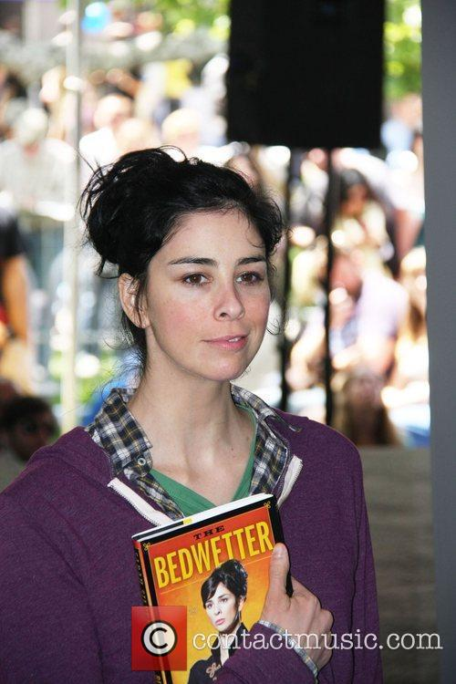 American comedian, writer and actress Sarah Silverman was...