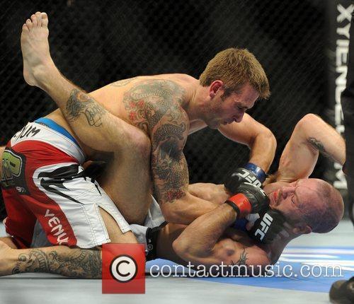 UK Kurt Warburton is beaten by Spencer Fisher...